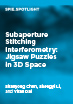Subaperture Stitching Interferometry: Jigsaw Puzzles in 3D Space