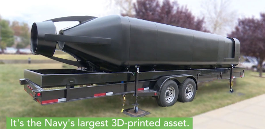 A submarine in 3 – 4 weeks: The 3D printed Optionally Manned Technology Demonstrator