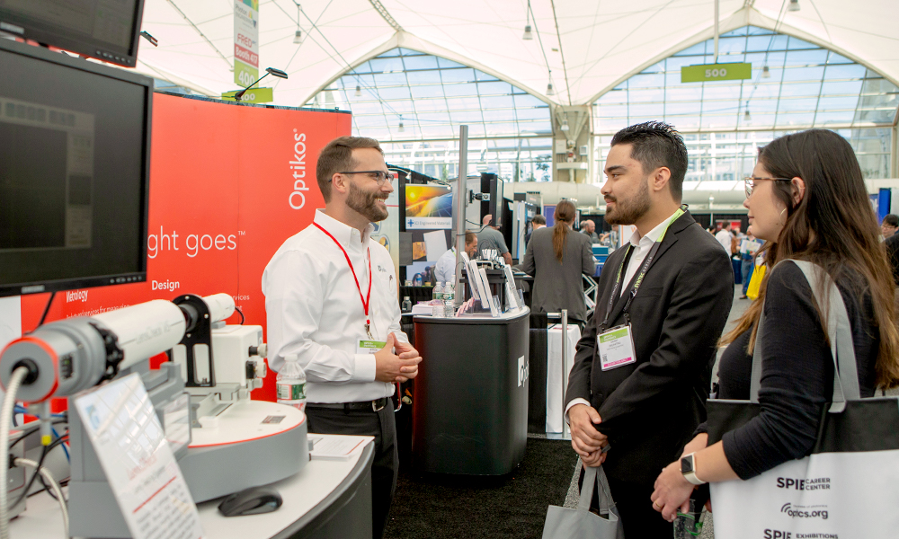 Walk the Exhibition floor at SPIE Optics + Photonics