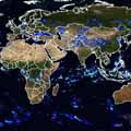 Monitoring global precipitation using satellites
