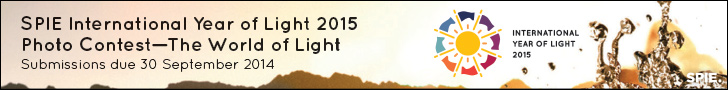 SPIE International Year of Light 2015 Photo Contest