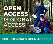 Open Access is Global Access - SPIE Journals OPEN ACCESS