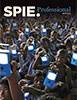 SPIE Professional magazine cover for April 2015