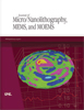 Graphic of cover of SPIE Journal of Micro/Nanolithography, MEMS, and MOEMS