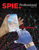 photo of graphene on cover of SPIE Professional